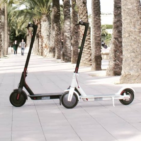 Electric kick scooter rental in Valencia