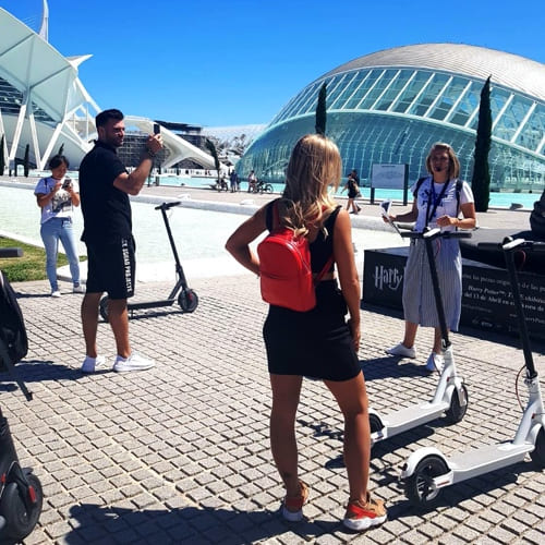 All Valencia Tour on Electric Scooters - The history of the city